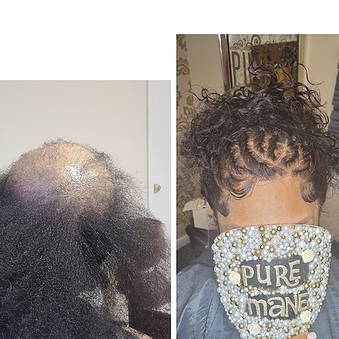 @maneattractionz Business Coaching and Hair Weaving Courses Link Thumbnail | Linktree