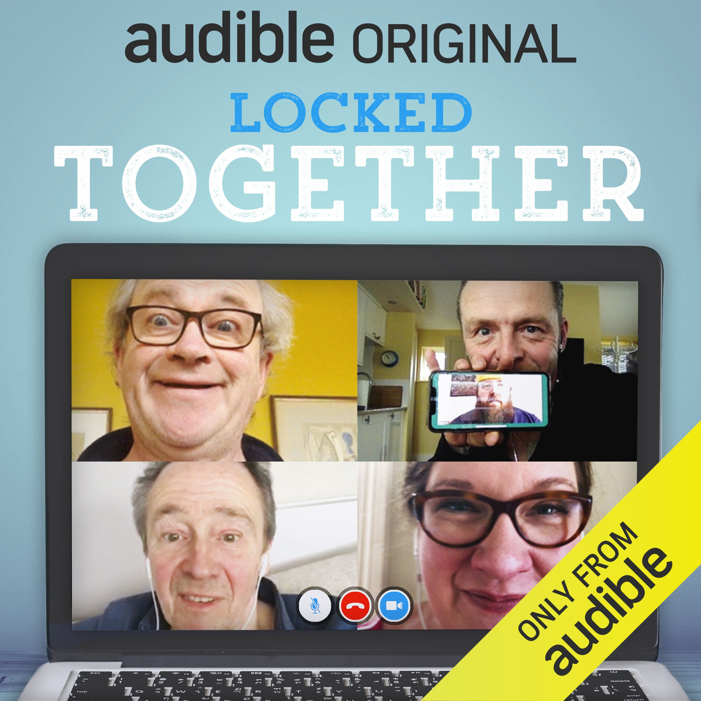 Audible UK Locked Together - free podcast Link Thumbnail | Linktree