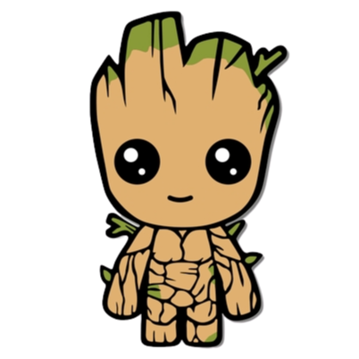 Multiplication Fact Practice - Groot Pixel Art