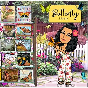 Miss Hecht Teaches 3rd Grade Butterfly Link Thumbnail | Linktree