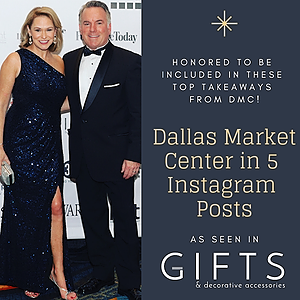 Gifts & Decor: Dallas Market Center in Five IG Posts