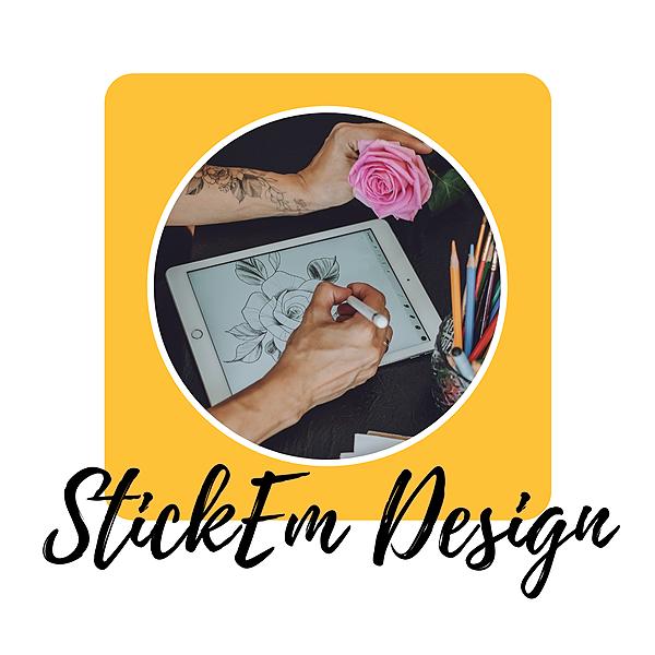 StickEm | Business Stationery Design Service Link Thumbnail | Linktree