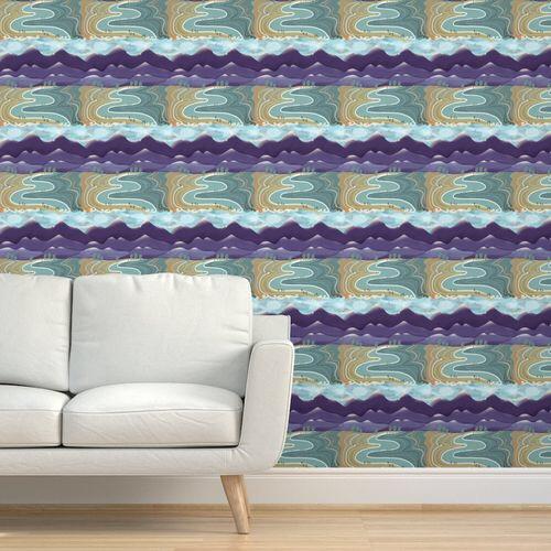 @sueshormanart Creative ways with wallpaper from Spoonflower Link Thumbnail   Linktree