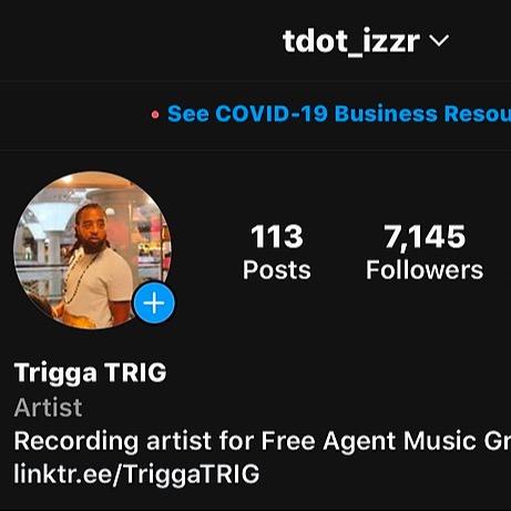 @TriggaTRIG Follow @Tdot_izzR on Instagram Link Thumbnail | Linktree