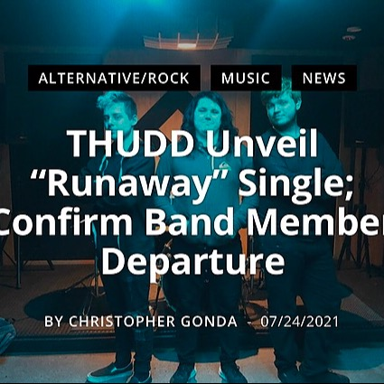 @thuddband Thudd article by Christopher Gonda Link Thumbnail   Linktree