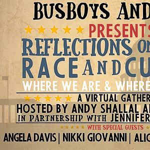 """Inaugural Event: """"Reflections on Politics, Race and Culture: Reflections on Politics, Race and Culture: : Where We Are & Where We're Going."""""""