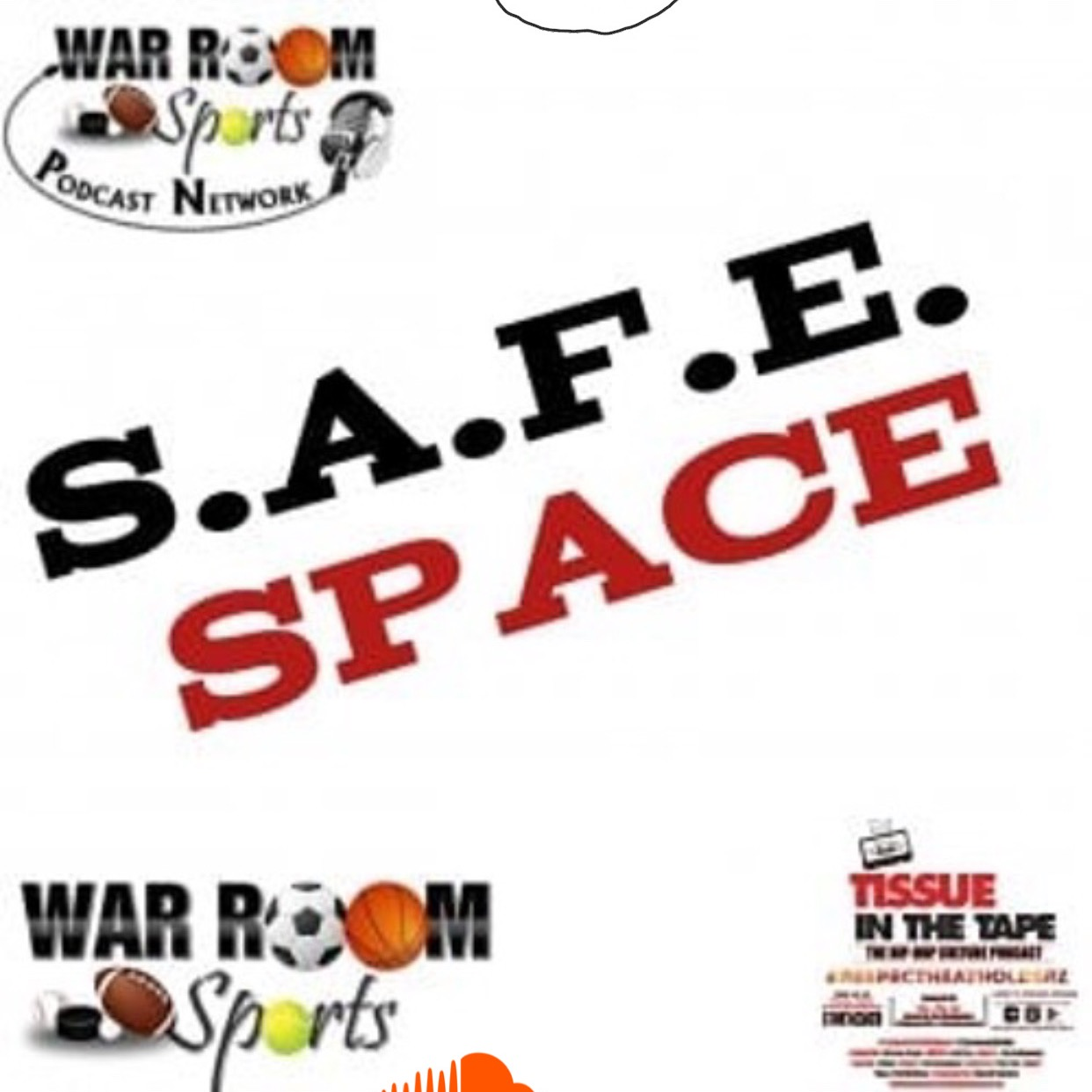 Tissue in The Tape Podcast S.A.F.E. Space Link Thumbnail | Linktree