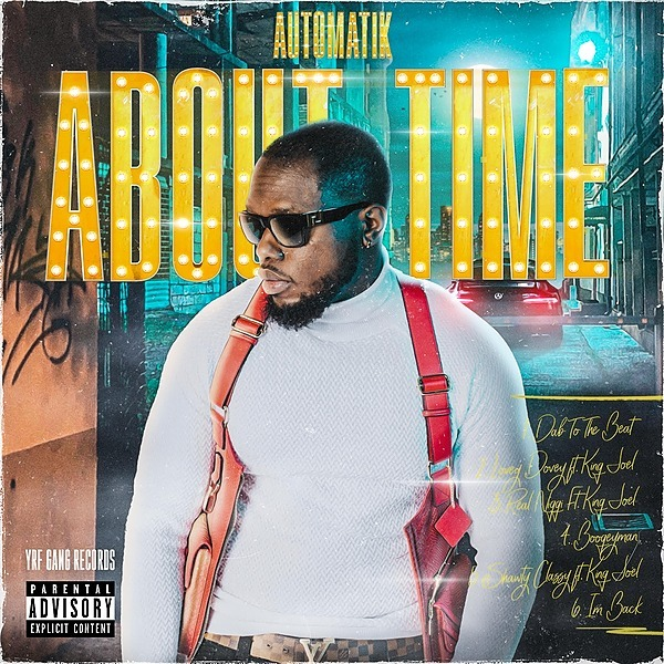 @Iam_automatik ABOUT TIME - THE EP Link Thumbnail | Linktree