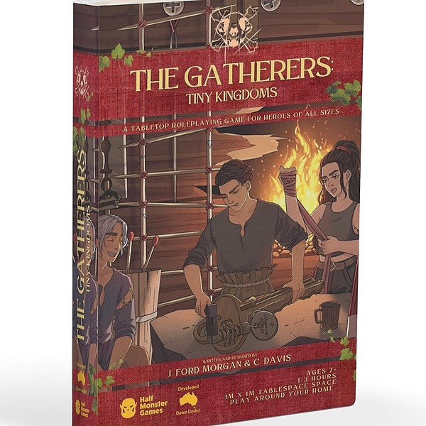 @halfmonstergames The Gatherers: Tiny Kingdoms Roleplaying Game Gamefound Campaign Link Thumbnail | Linktree