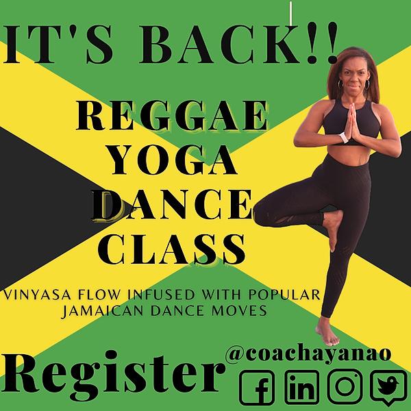 Reggae Dance Yoga At The Park