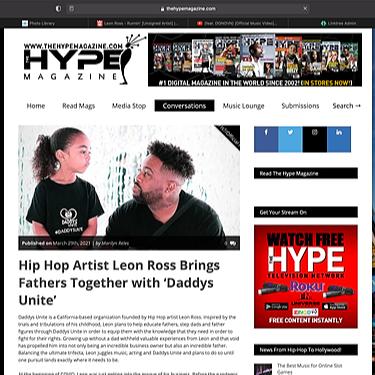 Hype Magazine Article