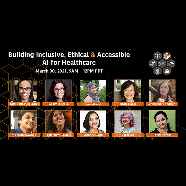 @LH3 Building Inclusive, Ethical, and Accessible AI for Healthcare (March 30, 2021) Link Thumbnail | Linktree