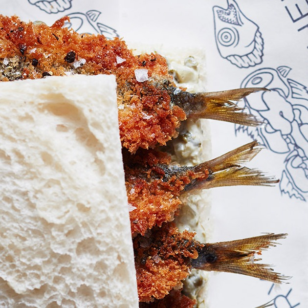 Celebrity Chef Recipe: Crumbed Sardine Sandwich