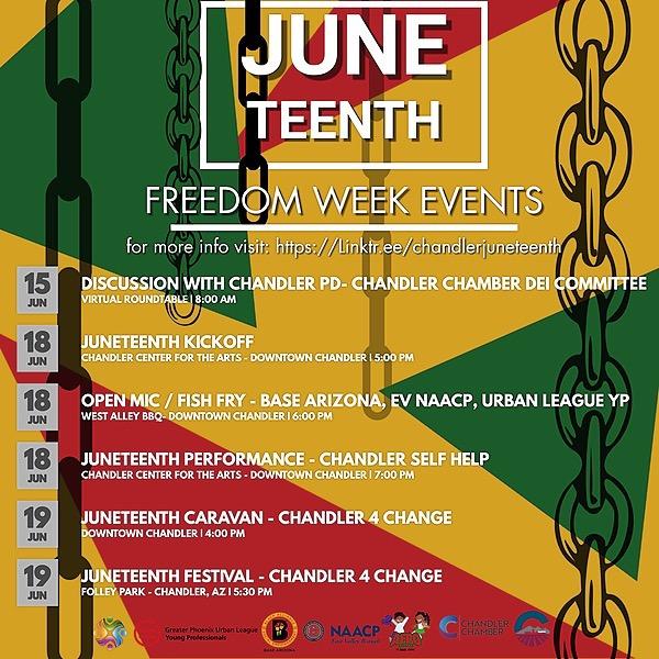 Freedom Week Events Calendar