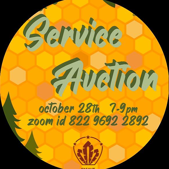 Service Auction Sign-up