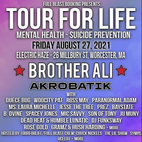 Full Blast TOURFORLIFE 8/27 MA feat. BROTHER ALI, Akrobatik +more Link Thumbnail | Linktree