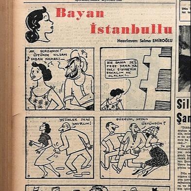 @bihtersabanoglu İstanbul Anksiyetelerinin Çizgi Kahramanı: Bayan İstanbullu Link Thumbnail | Linktree