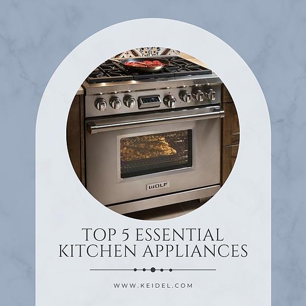 Keidel Top 5 Essential Kitchen Appliances Link Thumbnail | Linktree