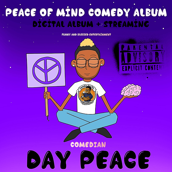 Day Peace Comedy Buy Or Stream My Comedy Album  Link Thumbnail   Linktree
