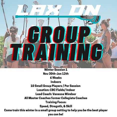 Group Training Non Club - All Players Invited ( Limited Spots) 11/30-1/12