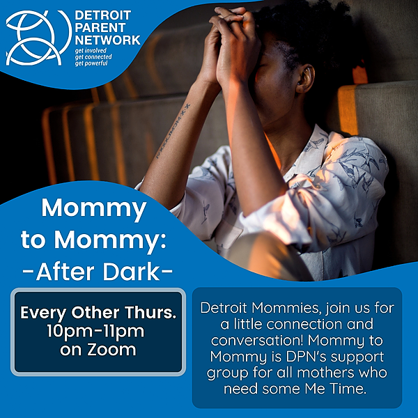 Detroit Parent Network Mommy to Mommy Support Group Link Thumbnail | Linktree