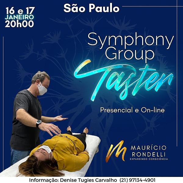 Symphony Group Taster -  Presencial e On-line- 17/01- São Paulo