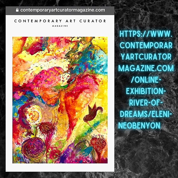 NeosDesigns Contemporary Art Curator Magazine Feature Link Thumbnail | Linktree
