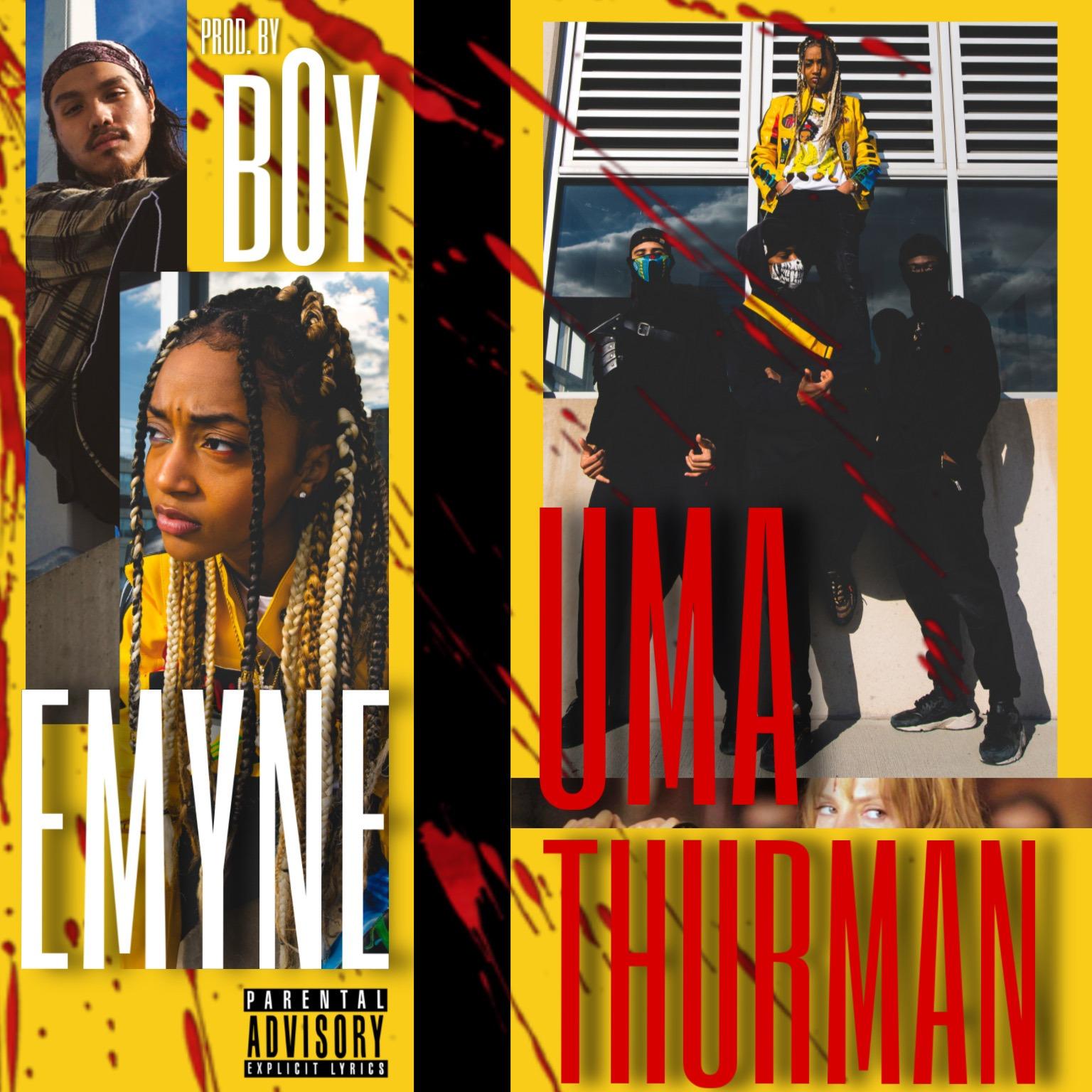Emyne- Uma Thurman (prod. by B0y) Music Video