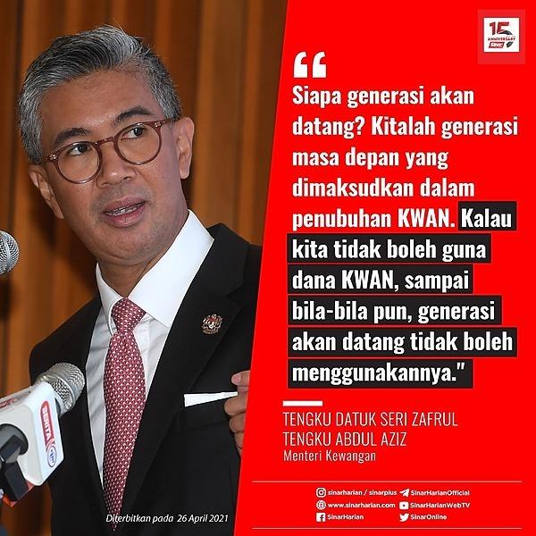 @sinar.harian Guna RM5 bilion dana KWAN beli vaksin wajar: Tengku Zafrul Link Thumbnail | Linktree