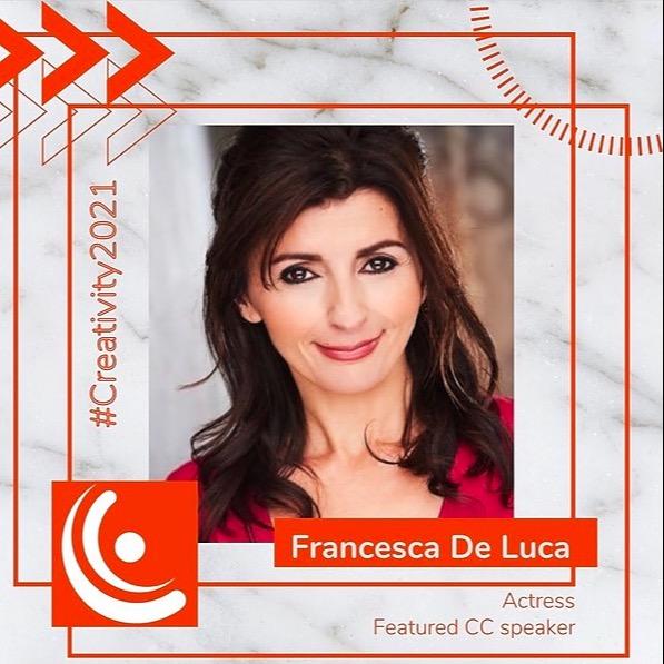 @FrancescaDeLuca Speaker and  Panelist.. Francesca De Luca speaker at The Creativity Conference. 2021.  Link Thumbnail   Linktree