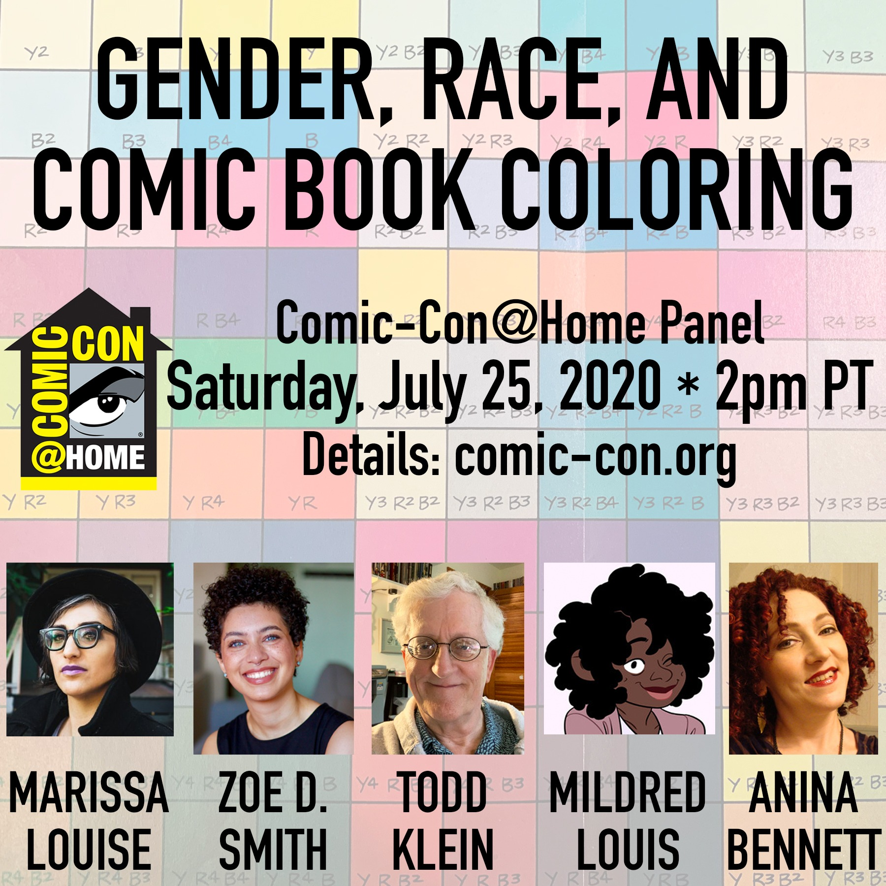 @bigredhair VIDEO - 2020 Comic-Con panel: Gender, Race, and Comic Book Coloring Link Thumbnail | Linktree