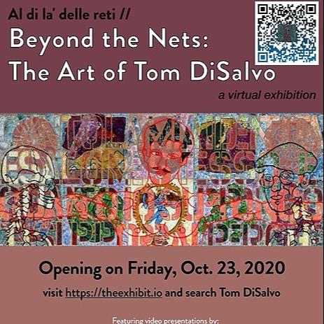 @BCSouthCampus The Art Of Tom DiSalvo - Al di là delle reti / Beyond The Nets 🖼️ Link Thumbnail | Linktree
