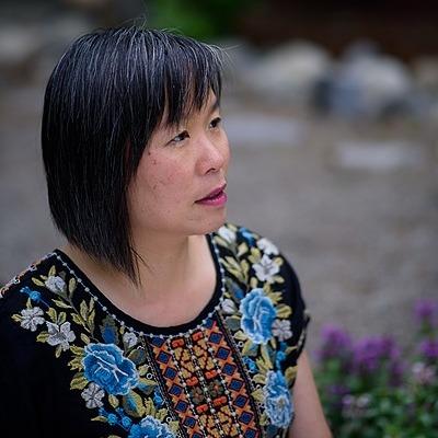 Larissa Lai with Kai Cheng Thom