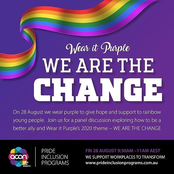 @ACONhealth Wear It Purple Pride Inclusion Programs Event Link Thumbnail   Linktree