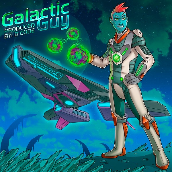 Zamantics Listen to the Galactic Guy Album on Streaming Platforms  Link Thumbnail | Linktree