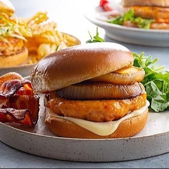 Salmon Burgers & Dogs