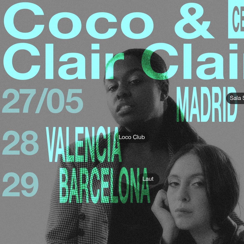 @cero.en.conducta Coco & Clair Clair en Valencia (Loco Club) Link Thumbnail | Linktree