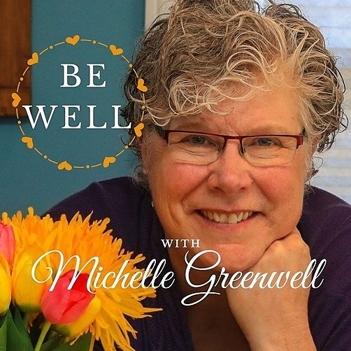 Michelle Greenwell Spotify - Be Well with Michelle Greenwell Podcast Link Thumbnail | Linktree