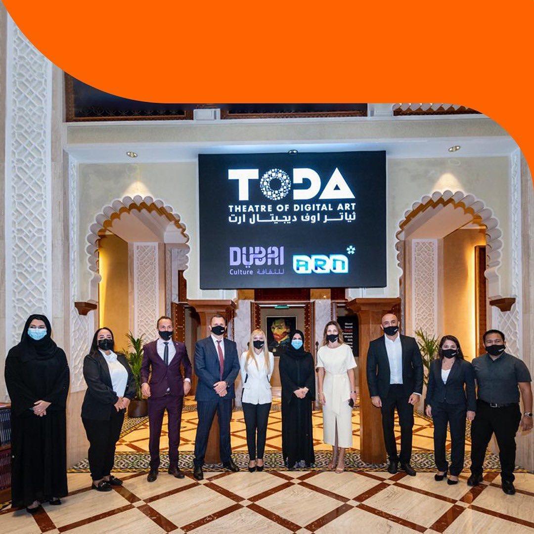 ToDa tickets - تذاكر ثياتر اوف ديجيتال آرت