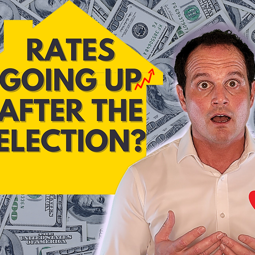 Will mortgage interest rates go up after the 2020 election❓❔