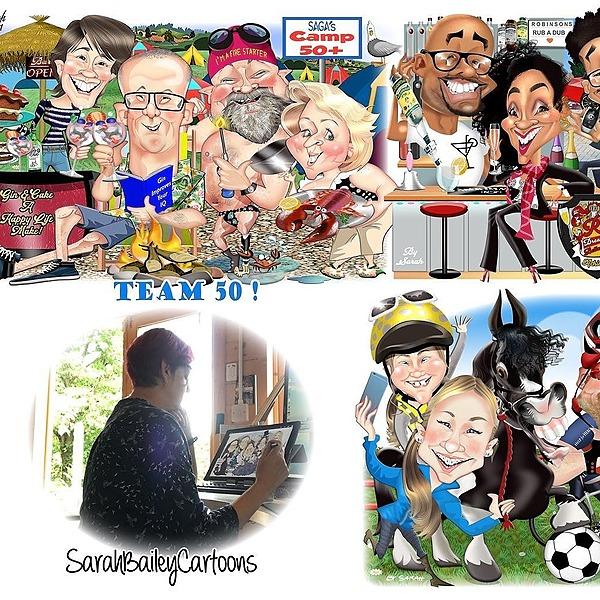 @sarahbaileycartoons SarahBaileyCartoon Website Link Thumbnail   Linktree