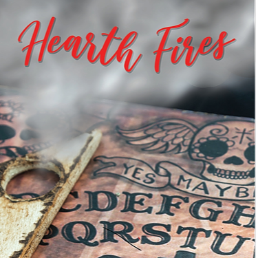 """HEARTH FIRES by Bibiana Krall and Veronica Cline Barton """"The ouija theme is so creative.  A must read! Cannot wait for the next one!"""""""