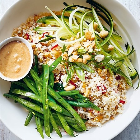 @donna.hay Spicy peanut cauliflower rice bowls Link Thumbnail   Linktree