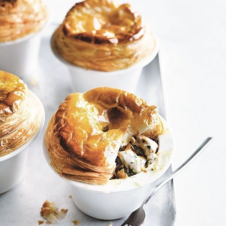 @donnahaymagazine chicken and chive pot pies Link Thumbnail   Linktree