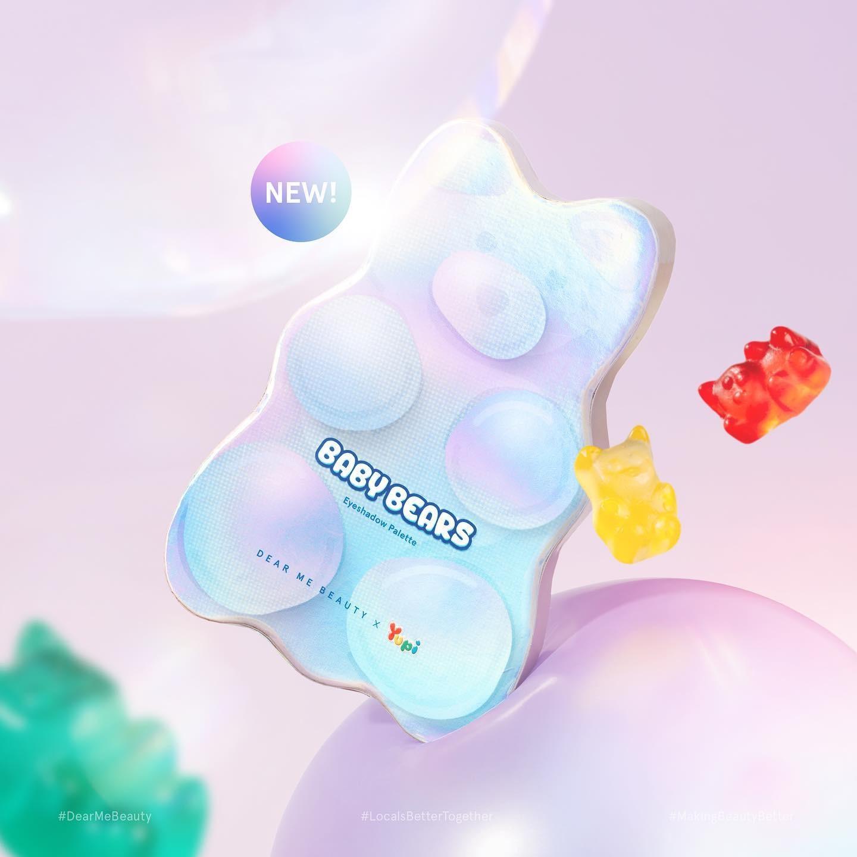 @DearMeBeauty NEW! Baby Bears Eyeshadow Palette 🐻 Link Thumbnail   Linktree