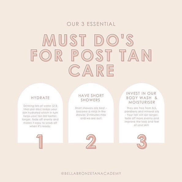 @bellabronzetans How to correctly prep for your tan Link Thumbnail | Linktree