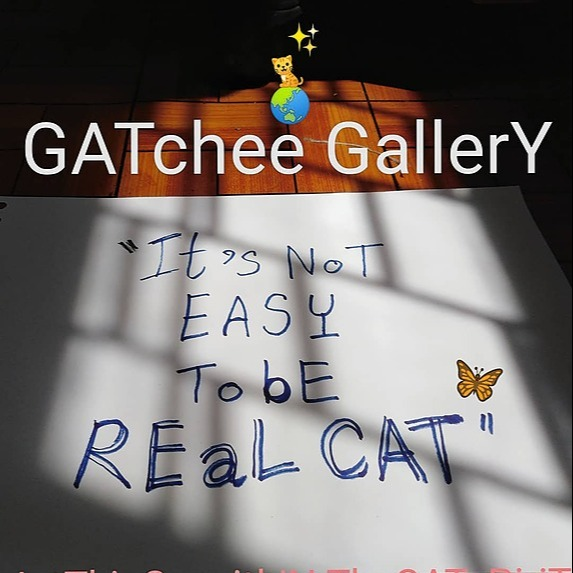 GATchee GallerY It's NoT EASY ToBe REaL CAT : Project Link Thumbnail | Linktree