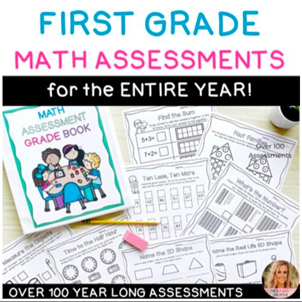 @thefirstgradecreative First Grade Math Assessments ENTIRE YEAR Link Thumbnail   Linktree