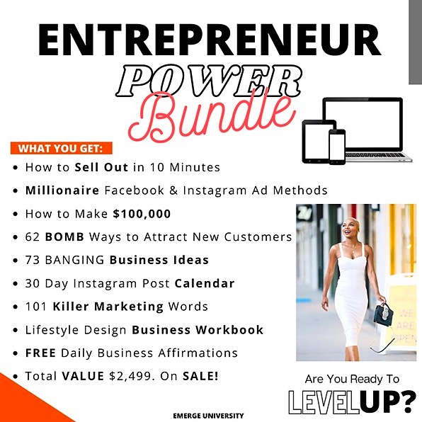 "Entrepreneur ""Power"" Bundle"
