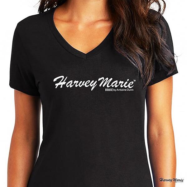 @EverythingByAntoineDunn Women's Essential Harvey Marie Logo V-Neck T-Shirt Link Thumbnail   Linktree